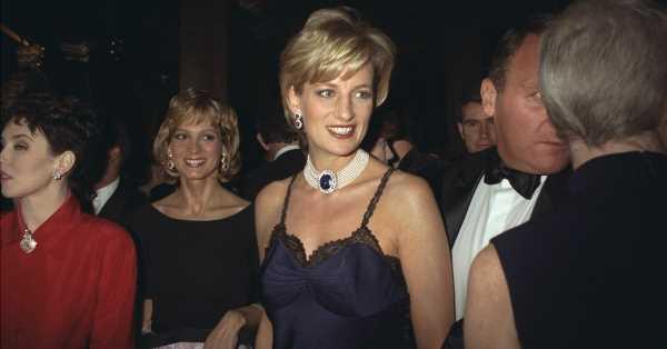 Aquella vez que Diana asistió a la Gala del Met con un polémico vestido de Galliano y temió avergonzar al príncipe Guillermo