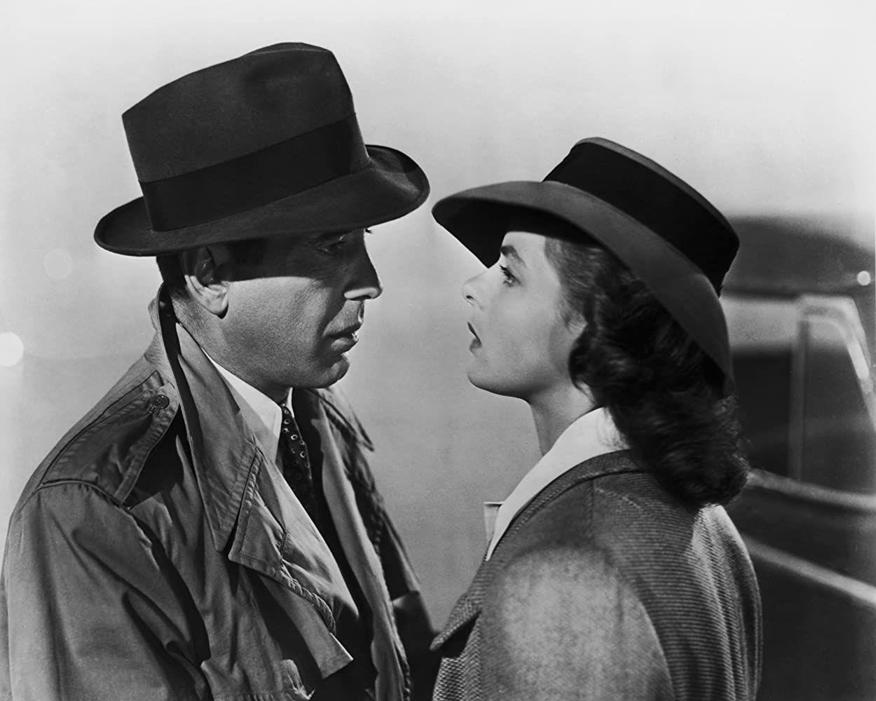 'Casablanca', la historia de amor de Humphrey Bogart e Ingrid Bergman