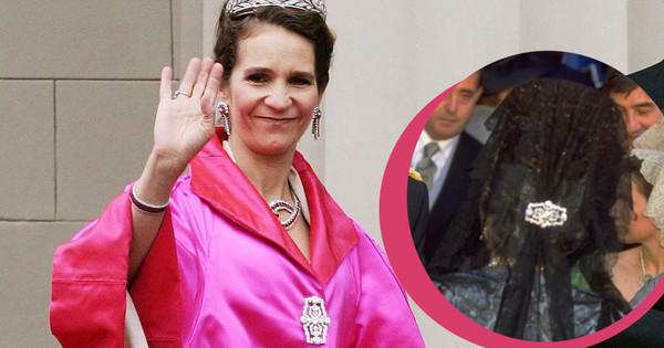 El broche que Victoria Federica podría heredar de su abuela, la condesa viuda de Ripalda (y que adora la infanta Elena)