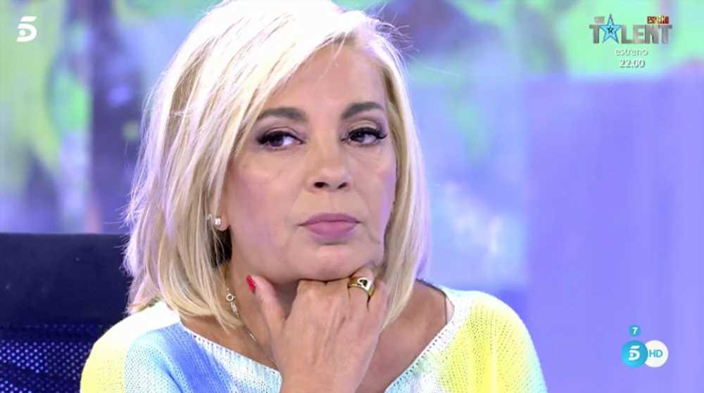 """El mensaje con el que Carmen Borrego muestra """"la crueldad de Bigote con Teresa Campos"""""""