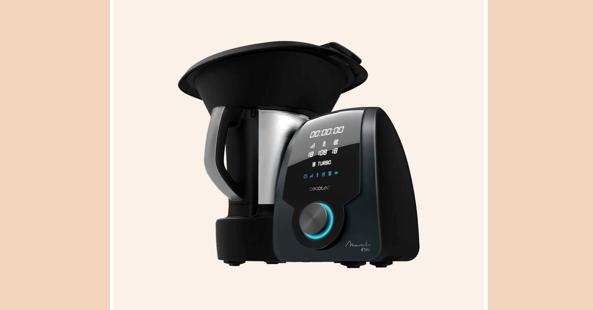 El robot de cocina más valorado en Amazon tiene ahora un descuento de casi el 50%