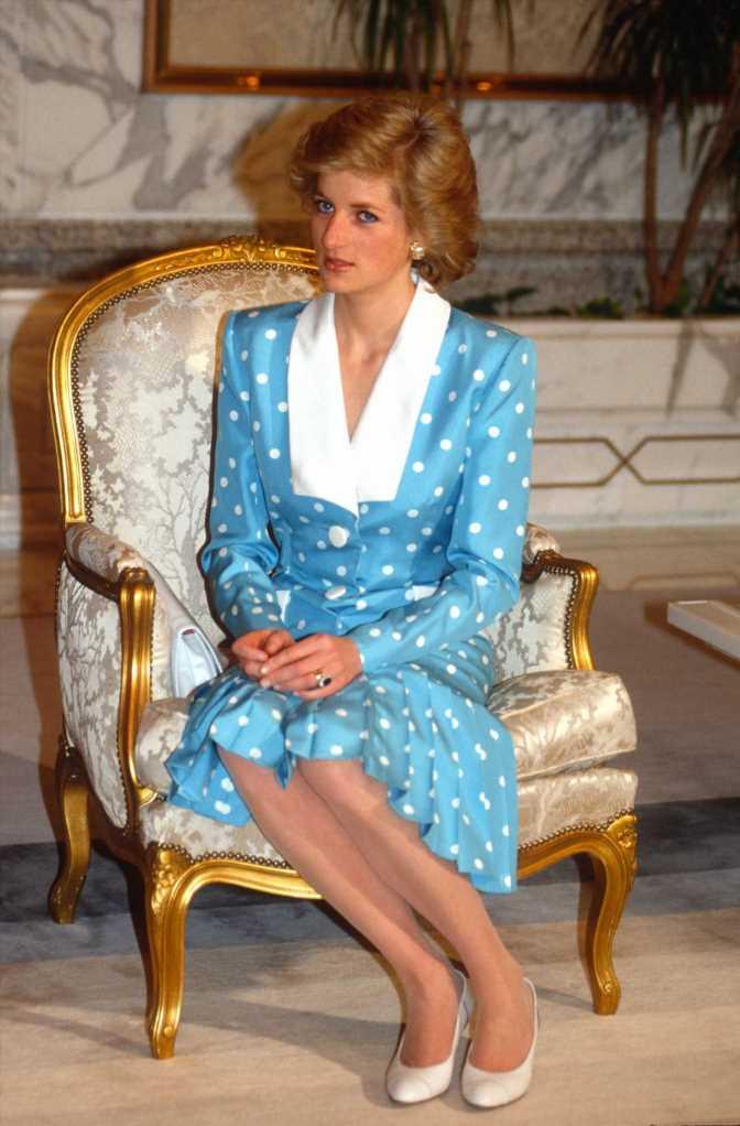 El vestido de lunares de Lady Di vuelve, palabra de Zara