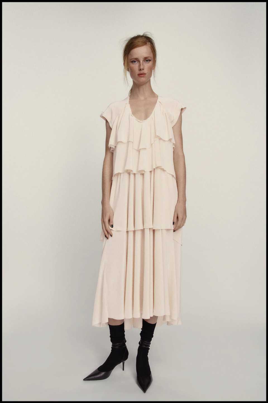 El vestido que Marta Ortega llevó a MBFW ya está en Zara
