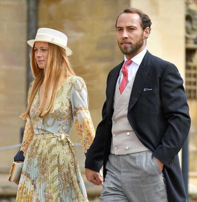 James Middleton, hermano de la duquesa de Cambridge, celebra su boda con Alizee Thevenet