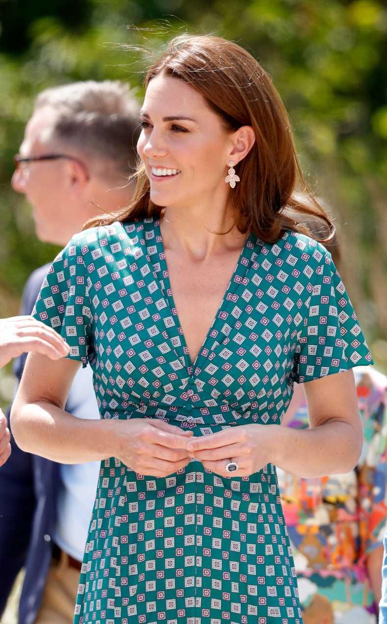 Kate Middleton y su vestido de flores de & Other Stories