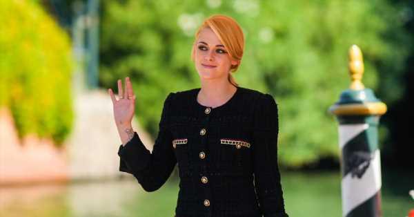 Kristen Stewart emula a la princesa Diana vestida de Chanel en el Festival de Venecia