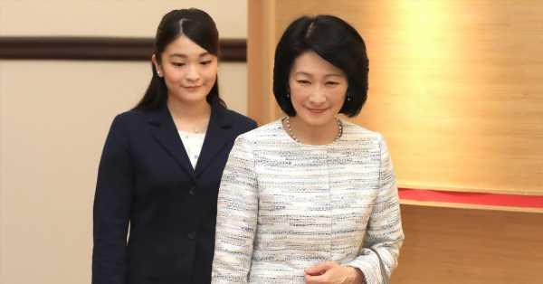 La princesa heredera de Japón respeta los sentimientos de su hija Mako sobre su boda