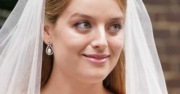 La tiara que Flora Ogilvy eligió para su boda, un guiño a su 'glamourosa' abuela (prima de Isabel II)