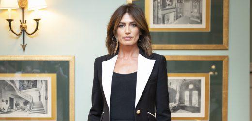 Nieves Álvarez deslumbra en el Wellington con vestido de infarto y la chaqueta más bonita de su nueva colección