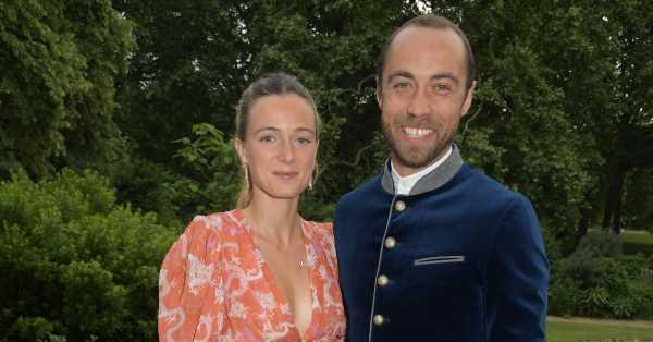 Por fin vemos el vestido de novia y el ramo que llevó Alizée Thevenet en su boda con James Middleton