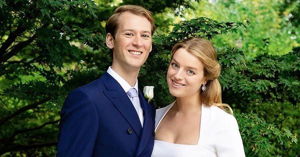 Vestido de novia corto y sin tiara: el segundo 'look' nupcial de Flora Ogilvy (sobrina de Isabel II) para su boda 'royal'