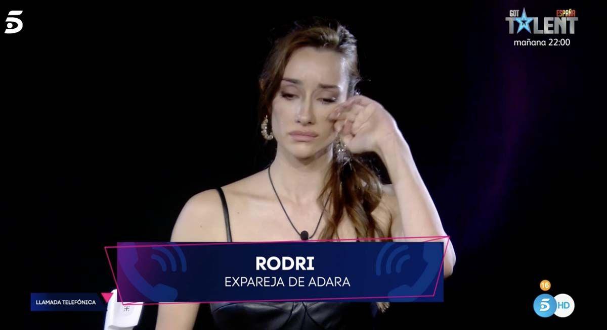 Adara se derrumba tras la llamada de Rodri: »No la entiendo»