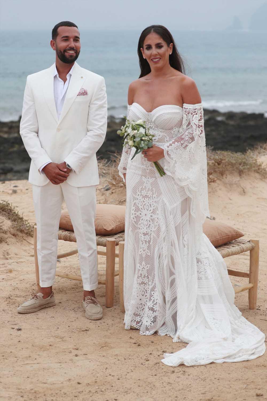 Anabel Pantoja: todos los detalles de su vestido de novia