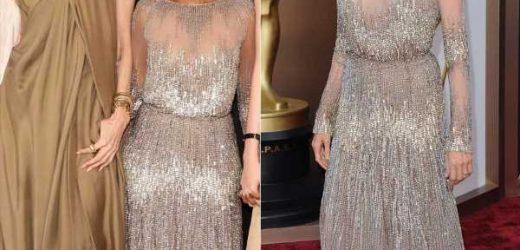 Angelina Jolie deja un vestido de los Oscar a su hija Zahara