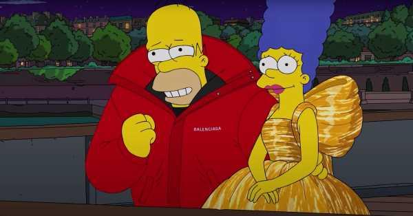 Balenciaga viste a 'Los Simpson' con su nueva colección