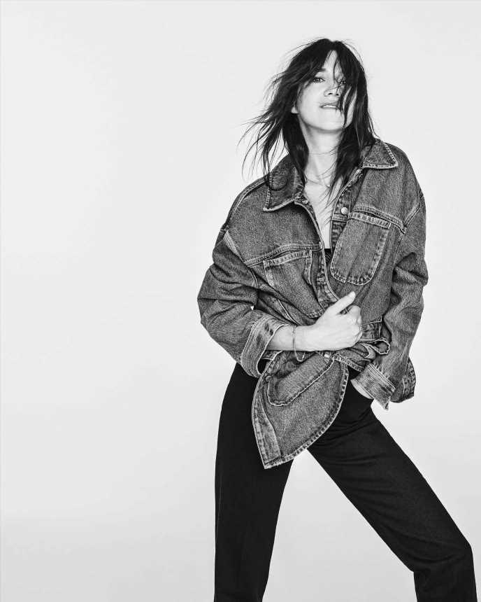 Charlotte Gainsbourg lanza una colección exclusiva para Zara