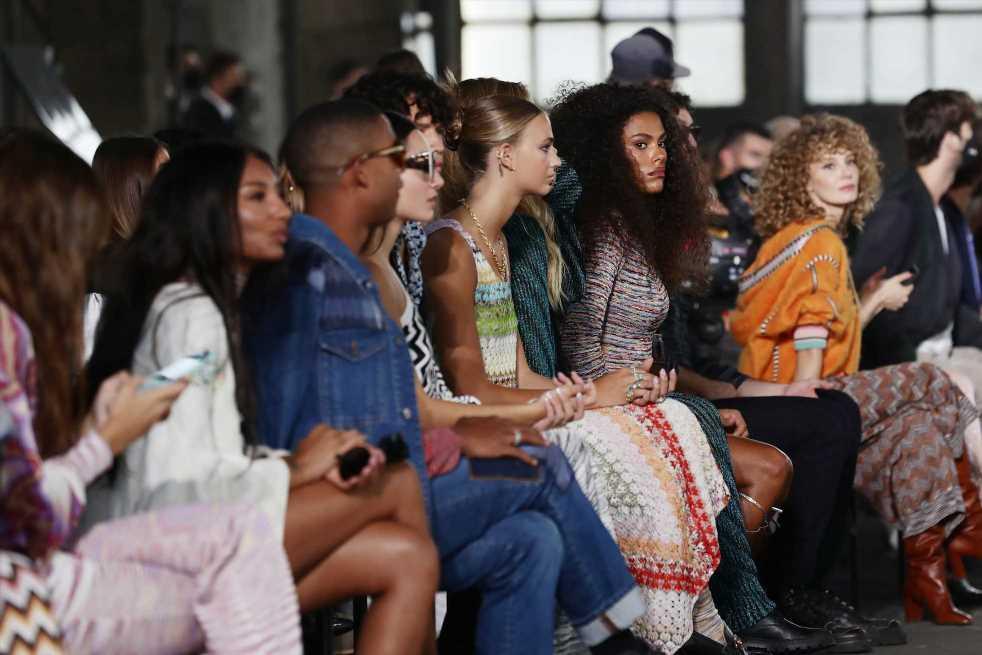 Cómo ha cambiado el 'front row': nuevo territorio de influencers