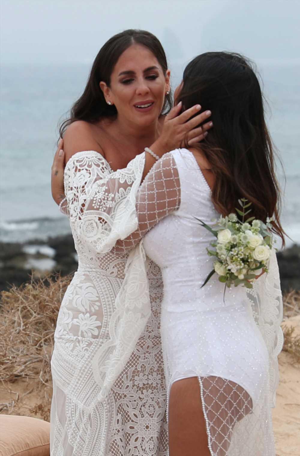 El emocionante discurso de Isa Pantoja  en la boda de Anabel