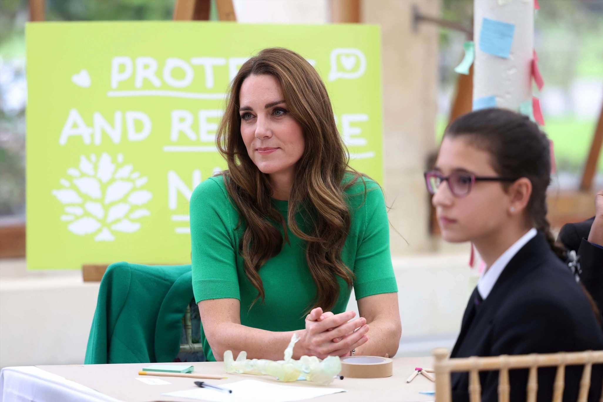 El jersey verde de Zara que ha enamorado a Kate Middleton