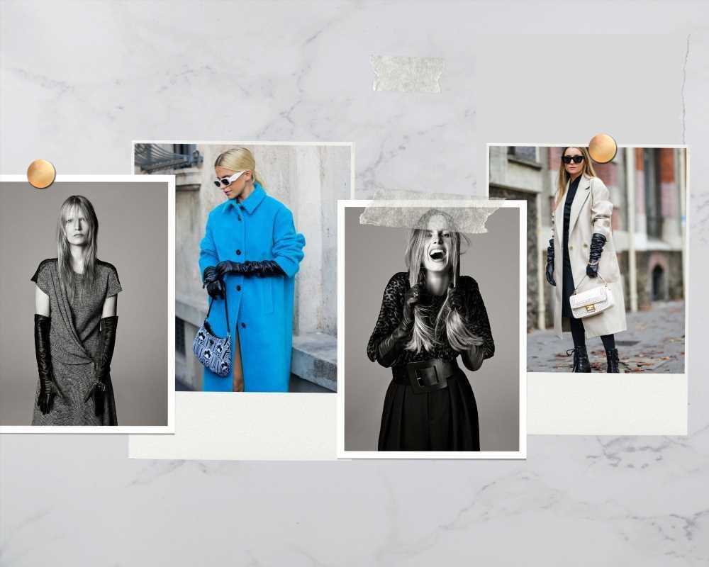 Guantes largos o la tendencia más elegante según Zara