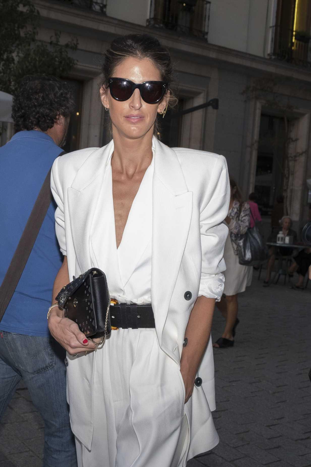 Inés Domecq, inspiración para las invitadas con vestido de lunares