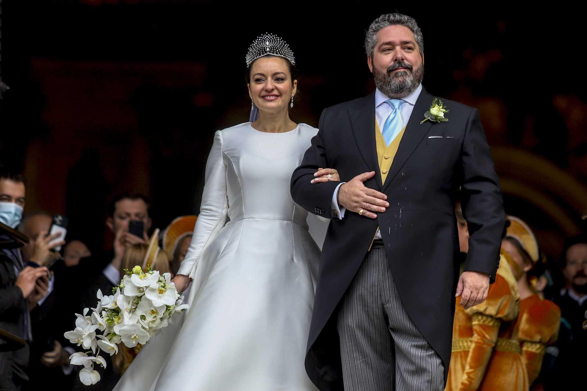 La boda real entre el duque Jorge de Rusia y Rebecca Bettarini