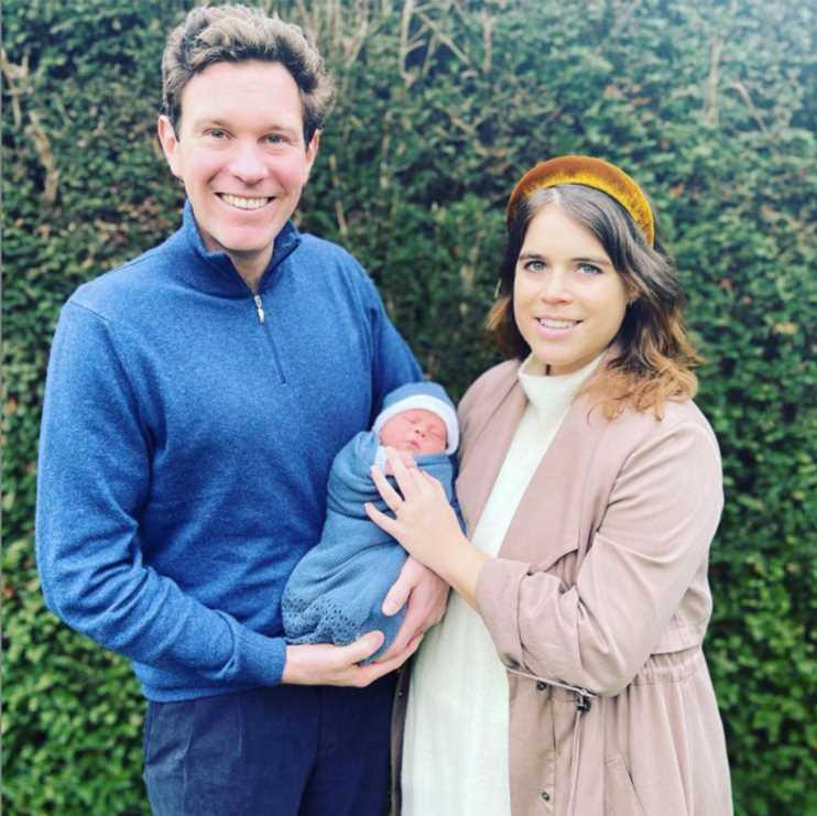 La princesa Beatriz de York y Edoardo Mapelli Mozzi revelan el nombre de su hija