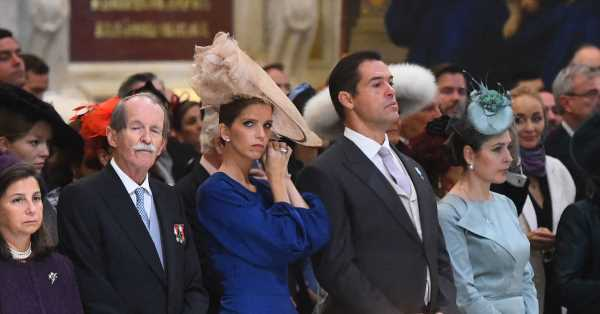 Los dos vestidos de Margarita Vargas para la espectacular boda de Jorge Romanov en San Petersburgo