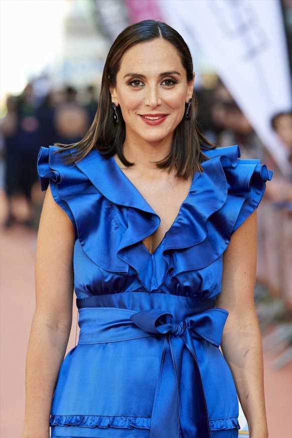 Tamara Falcó y su vestido de silueta 'wrap' más favorecedor