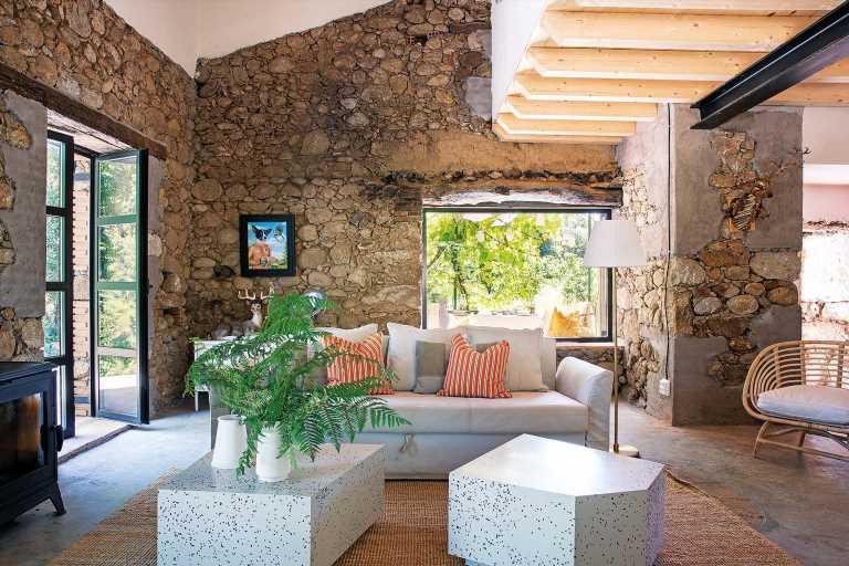 Una casa de campo decorada con Ikea por Guille García-Hoz
